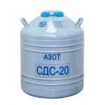 Сосуд Дьюара СДС-20 (20 литров, горловина 58мм)